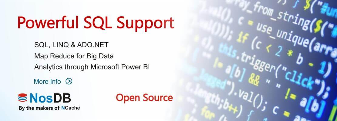 Powerful SQL Support