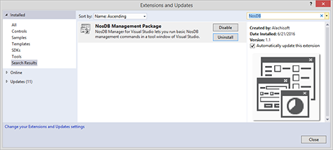 Visual Studio Extensions