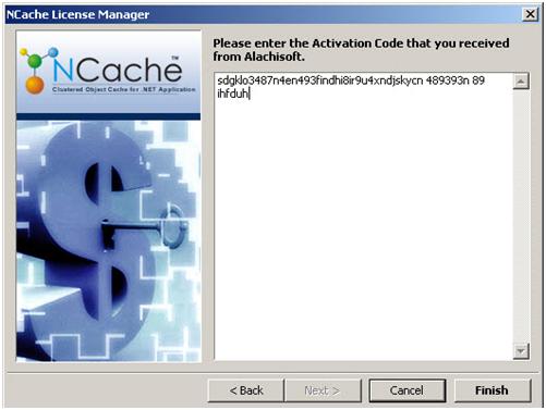 Activating NCache