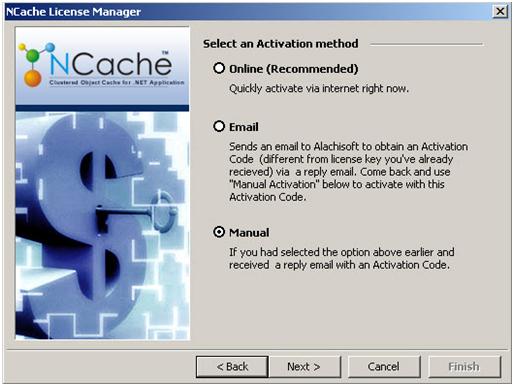 ctivate NCache License